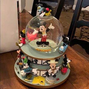 Disney's Mickey Mouse musical snow globe